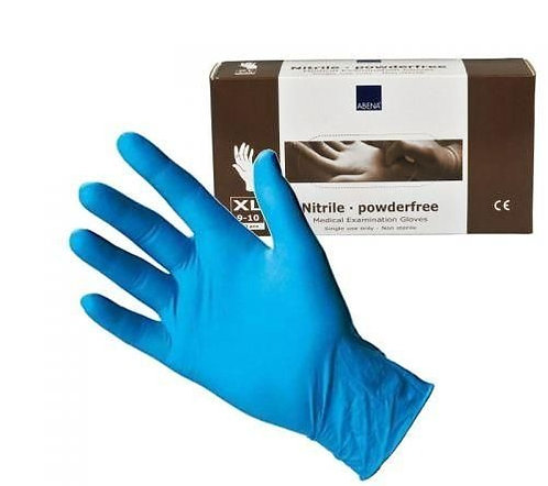 ABENA (XLarge) Powder Free Nitrile Gloves (180 pieces)