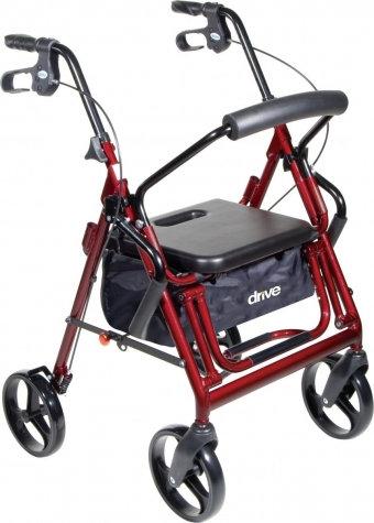 "Duet Rollator Transport Chair 8"" Casters"
