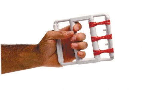 CanDo® rubber-band hand exerciser