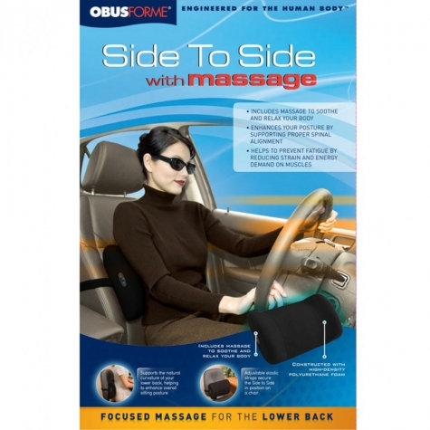 ObusForme Side to Side with Massage Option