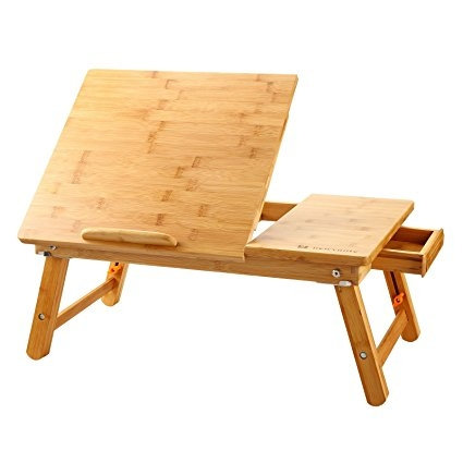 Laptop Table Adjustable 100% Bamboo