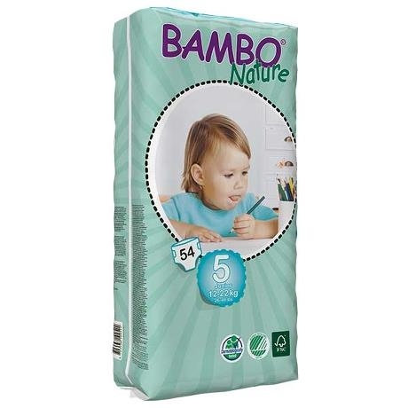 ABENA Bambo Nature Junior Tall Diapers (12 - 24 mos)
