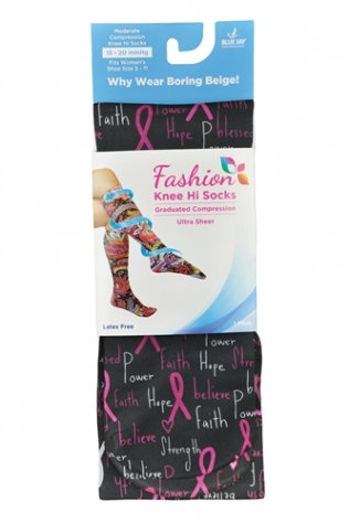 Light Compression Knee Hi Socks