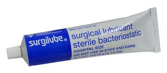 Surgilube Surgical Lubricant - Sterile Bacteriostatic 120.49 g
