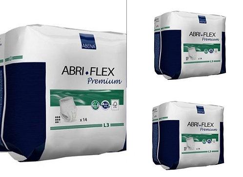 L3 Abri-Flex Disposable Protective Underwear LARGE 42 Count