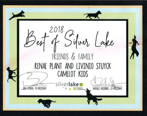 Silverlake Chamber of Commerce award 2018