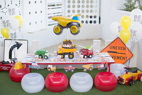 Beep...Honk...Vroom Birthday Blast Theme