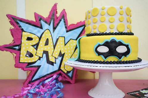 "6"" - 8"" Two-Tier Themed Cake - CHOOSE from Themes"