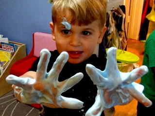 Top Three Sensory Play Activities