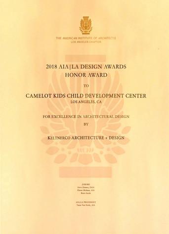 LA Design Award | Keltner Co