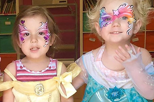 Face Painting by We Adorn You