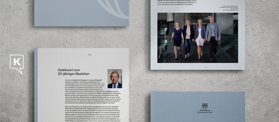 Studiengangsbroschüre FH Salzburg – BWL