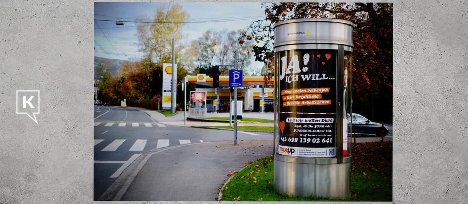 maxxup: Plakatkampagne