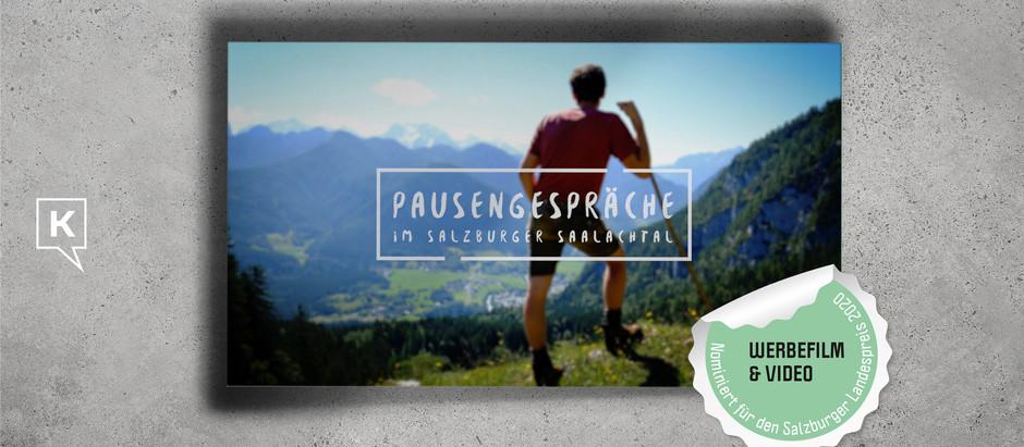 """""""Pausengespräche"""" im Salzburger Saalachtal"""