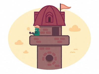 Mr Olaf a toronyban