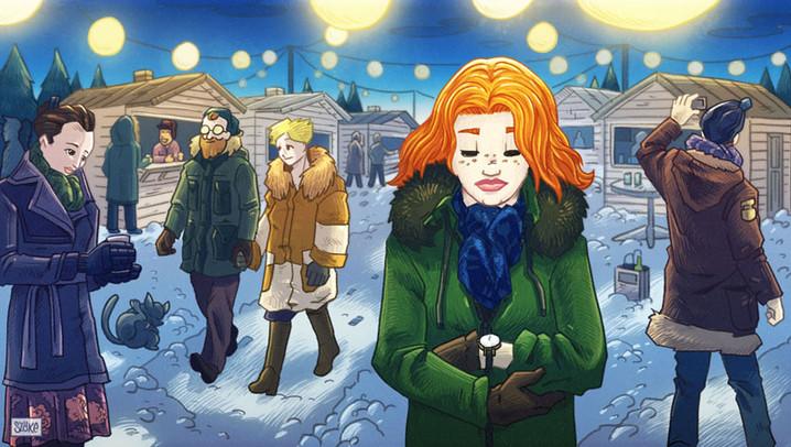 Karácsonyi novella - 5 kép