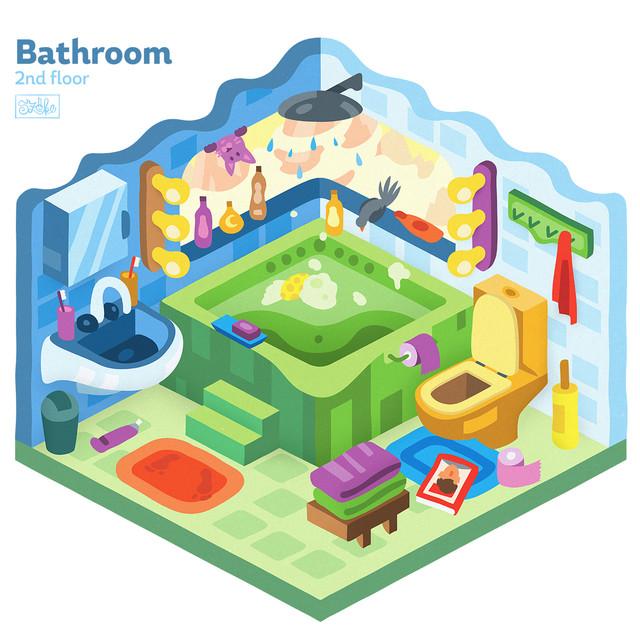 Fürdőszoba - 2. szint