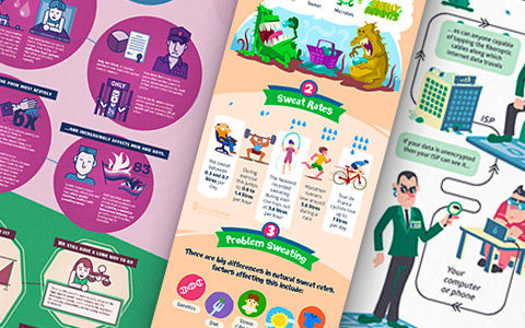 Infografika, Szőke-Kiss Márton - Szabadúszó illusztráror, grafikus