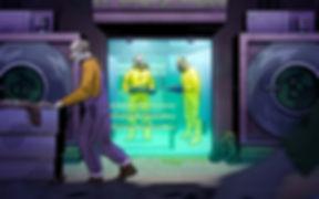 Lockd Room Project Heisenberg | Szőke-Kiss Márton, Illusztrátor, Grafikus