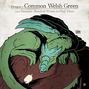 Common Welsh Green