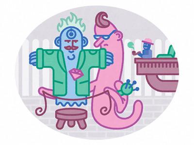 Mr Olaf és a Szellem Király a szabónál