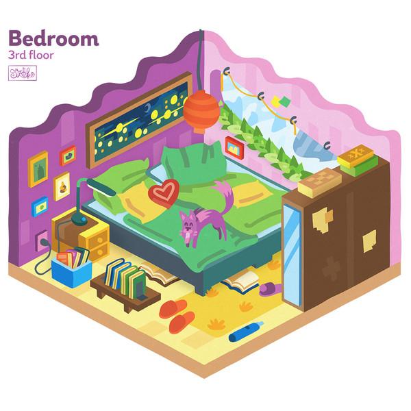 Hálószoba - 3. szint