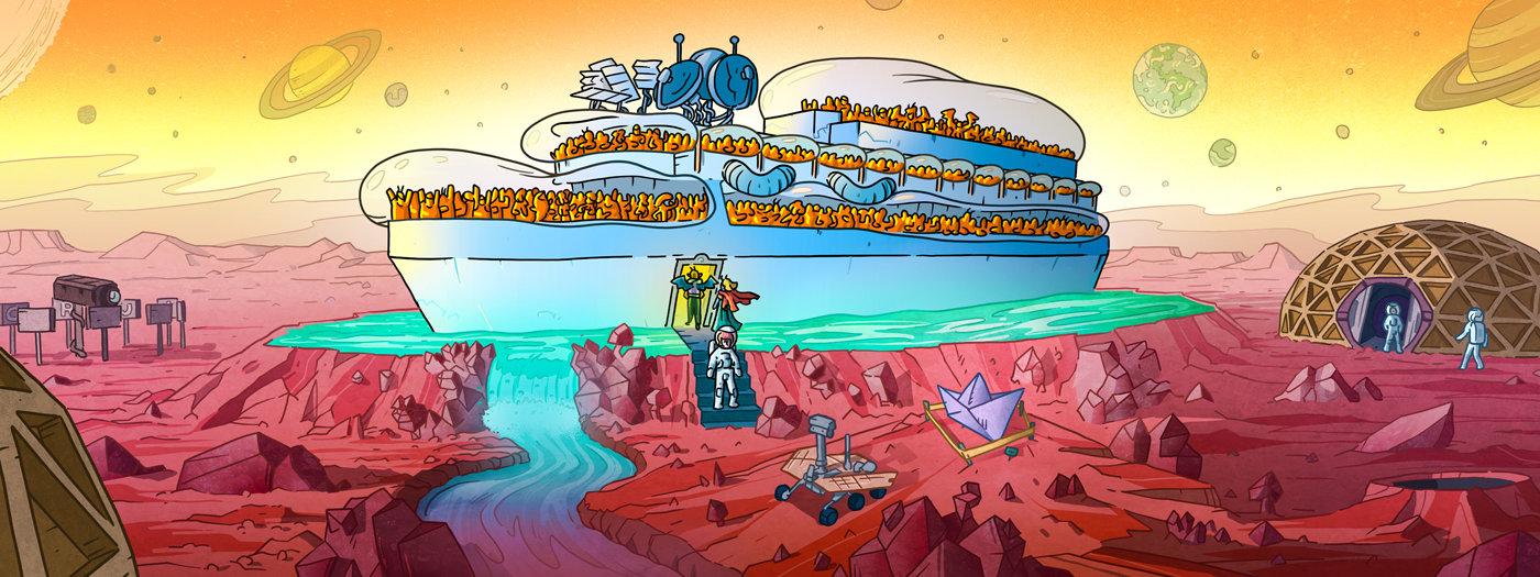 Konstantin Sibold, Carl Craig, Duna, Hajó, Buli, Nyár, Szőke-Kiss Márton, szabadúszó, illusztrátor, grafikus, budapest, békéscsaba