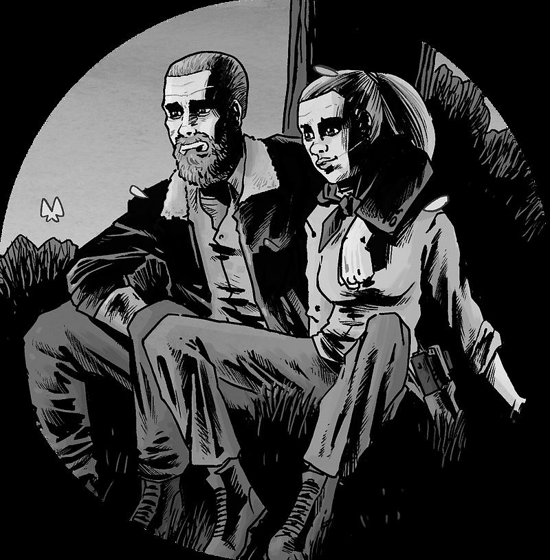 Walking Dead 193, End, Final, Tribute, Fanart, Tisztlgés,képregény, Comics, Szőke-Kiss Márton, szabadúszó, illusztrátor, grafikus, budapest, békéscsaba