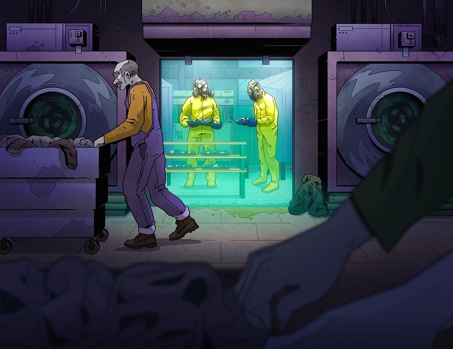 Heisenberg Project - Escape Room Budapest, Szőke-Kiss Márton, Illusztrátor, Grafikus