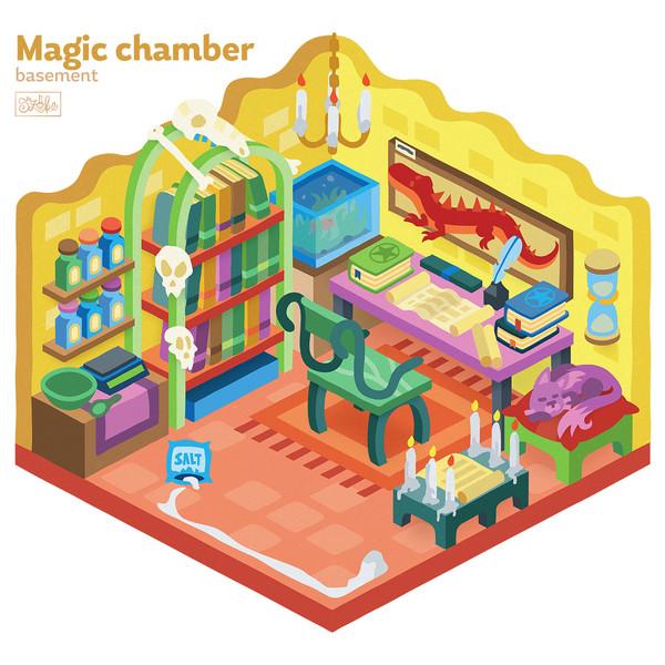 A varázsló pincéje - alagsor