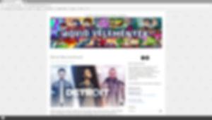 Rövid Vélemények blog fejléc, illusztráció, rajz, grafika