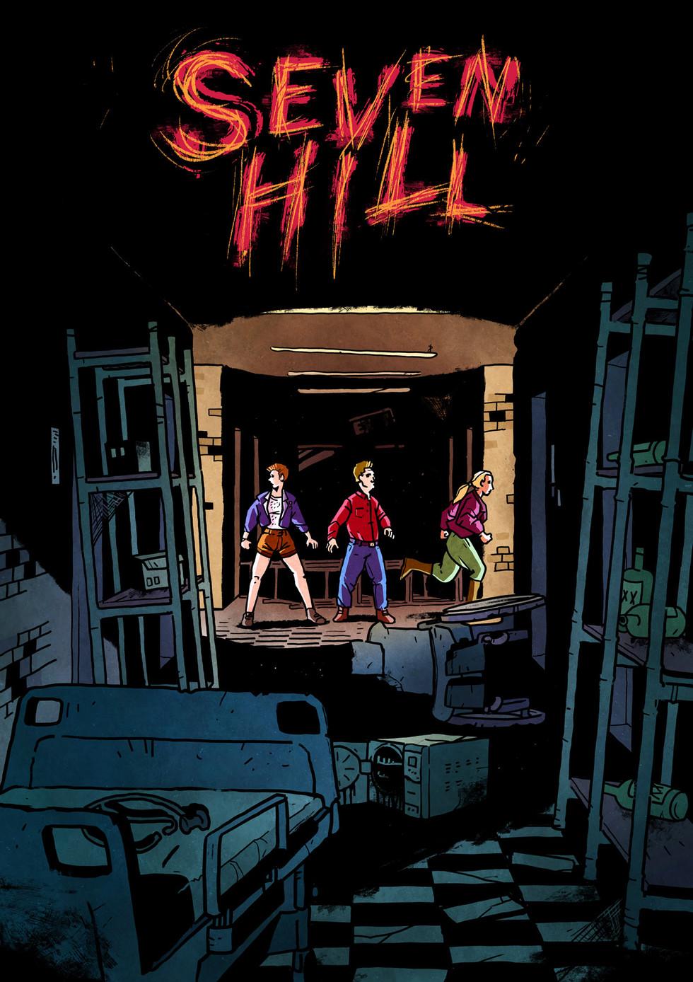 Seven Hill - Print