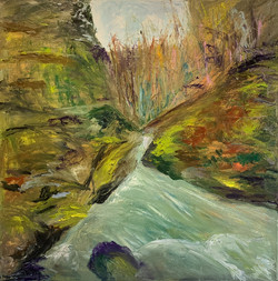Kathy Ann Flynn - Woodland Stream