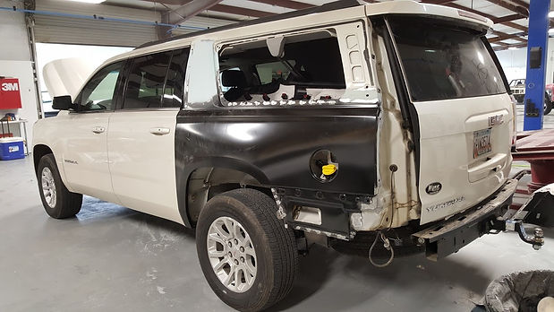 Body work, Auto collision, Panel replacement