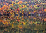Linda T Hubbard. Autumn Reflection - Candlewood Lake   Photo  16 x 20   $180.jpg