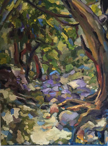 """Andy Kimmel   """"The Outdoors"""" - SOLD"""
