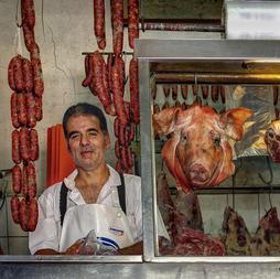 Neil Zobler:  Butcher in Chile