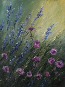 "Janet Greco     ""Wild Flowers"""