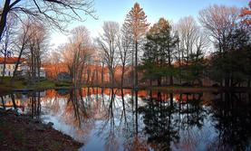 "Kevin Heffernan   ""Autumn Reflection"""