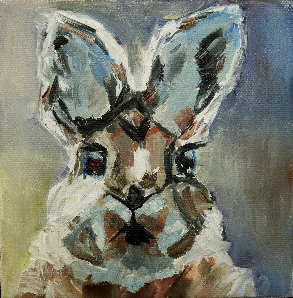 Annie Decker McAward - Cottontail -SOLD