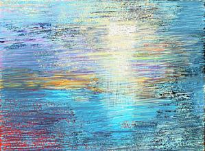 "Basha Maryanska   ""Spring Sky in Water"""