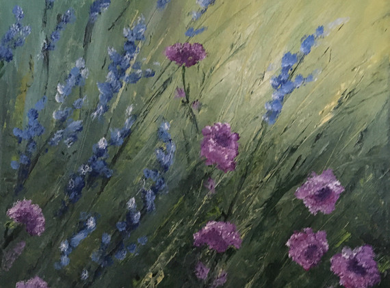 Janet Greco:  Field of Color
