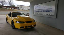 "4"" cowl induction hood. Yellow Cobra"