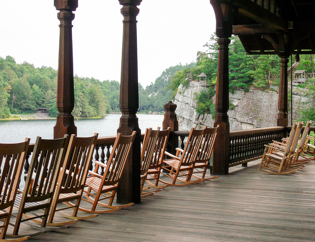 Mohonk Mountain House Rocking Chairs