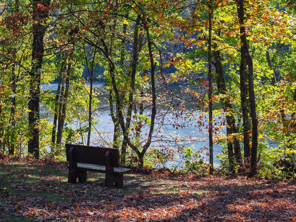 Housatonic River Bench