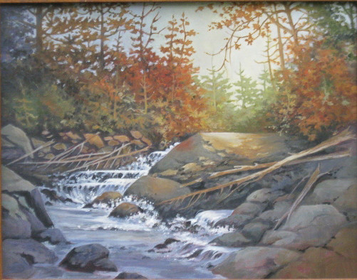 Sunrise on Rapids