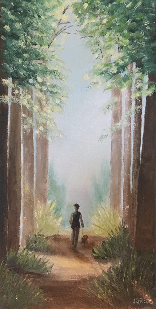 Janet Greco - Walk in the Woods - SOLD