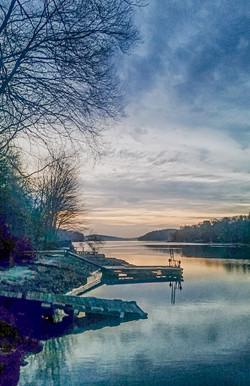 Cindy O'Conor -  Candlewood Lake at Dawn