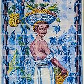 Linda T Hubbard  Portuguese Tiles I Photograph 10 x 10 $75 sm.jpg