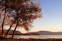 Hudson River Long Dock Autumn
